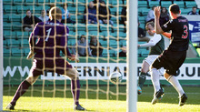 Leigh Griffiths dominated the game though and brought the teams level with a right foot effort.