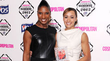 Denise Lewis with Jessica Ennis, won the award for Ultimate Olympian.