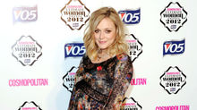 Host Fearne Cotton.