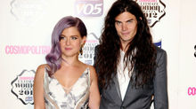 Ultimate Style Icon award winner Kelly Osbourne with boyfriend Matthew Mosshart.