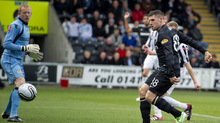 Gary Hooper kicked off a rout at St Mirren for Celtic.