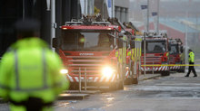 Closed setree: Emergency services at the scene