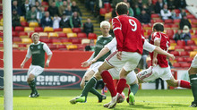 Gavin Rae applied the finish to keep the three points in Aberdeen