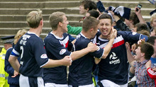 Ryan Conroy gave Dundee hope with a penalty equaliser