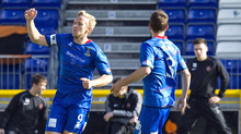 Richie Foran is in fine scoring form and he had Inverness 2-0 up in the first half against Dundee United
