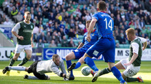 Eoin Doyle had Hibees forgetting about the loss of Leigh Griffiths with the opener at Easter Road