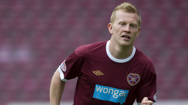 Hearts winger Andrew Driver.