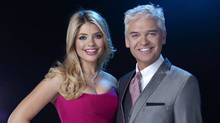 Presenters Holly Willoughby and Phillip Schofield