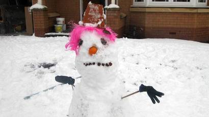 A selection of snowmen from around Scotland - which do you think is the best?