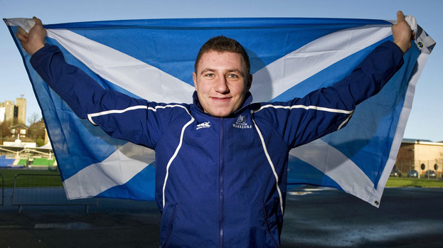 Rising star: Scotland fly-half Duncan Weir