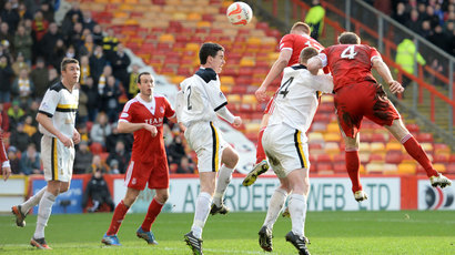 Aberdeen 1-0 Dumbarton: Adam Rooney sends Dons into cup semi-finals