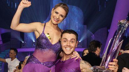 Ray Quinn wins Dancing on Ice 2014 beating Hayley Tamaddon and Beth Tw