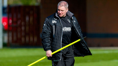 Rangers boss Ally McCoist not worried by criticism following cup draw