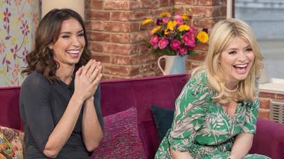 Holly Willoughby and Christine Bleakley - This Morning.