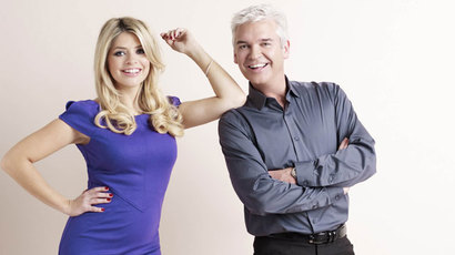 Holly Willoughby and Phillip Schofield - This Morning.