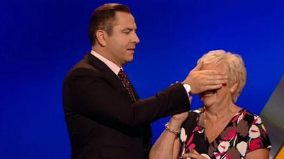 David Walliams and mum
