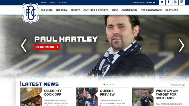 Dundee FC to live stream games to fans across the globe