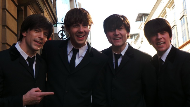 hit beatles show let it be comes to glasgow on april 28
