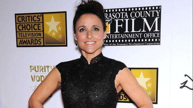 Julia louis dreyfus loves swearing showbiz entertainment for Where did julia louis dreyfus go to college