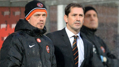 Dundee United drop appeal over Jackie McNamara's touchline ban