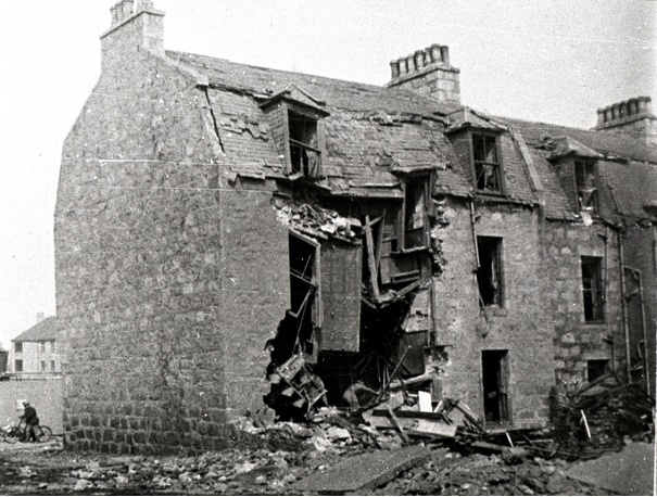 The Aberdeen Blitz Caused Devastation During The Second