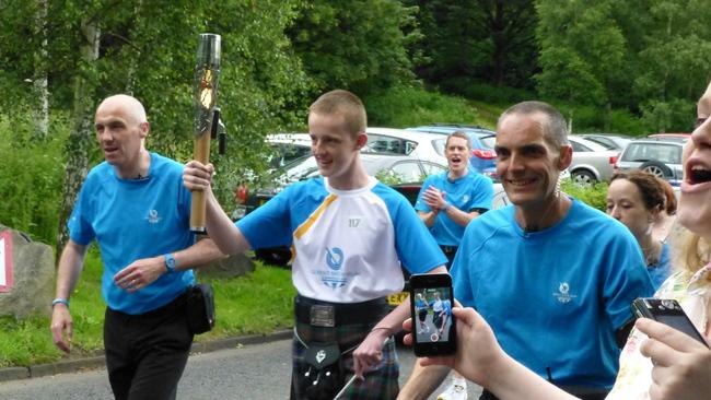 In photos: The Queen's Baton Relay in Edinburgh