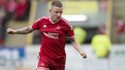 Jonny Hayes insists Dons are in driving seat for Europa League second leg