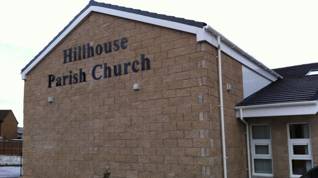 Discussion: The Earnock Residents' Association meeting is held at Hillhouse Parish Church