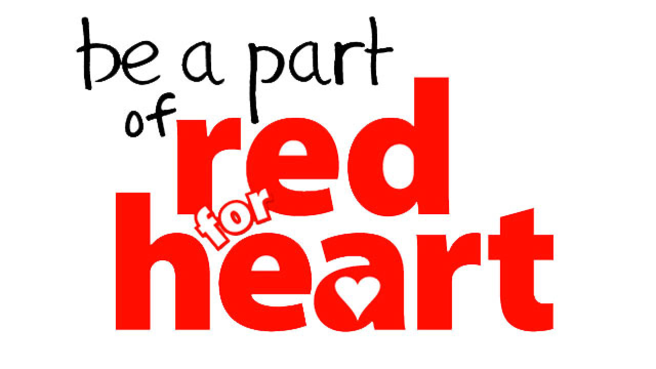 Promote heart health with Wear Red Day 2011  |For Heart Month Wear Red