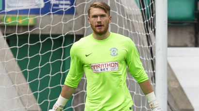 Goalkeeper Mark Oxley joins Hibernian on a six month loan from Hull City