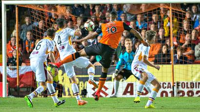 See Mario Bilate's 25-yard strike as Dundee United beat Motherwell