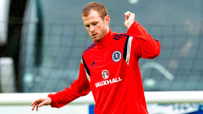 Aberdeen defender Mark Reynolds called up to the Scotland squad