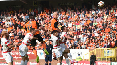 Dundee United 2-2 Hamilton: Accies go top of Premiership with draw
