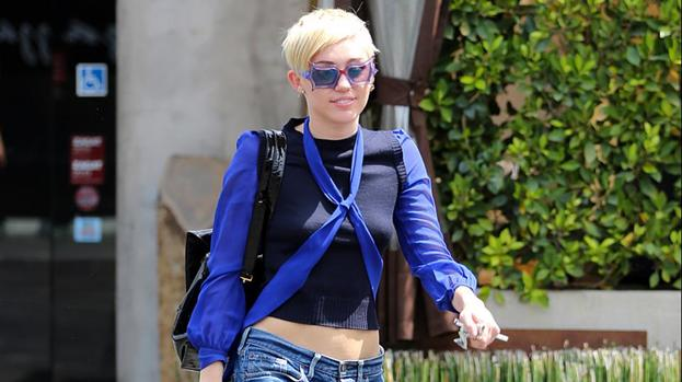 Miley Cyrus Goes Completely Naked For V Magazine   toofab.com