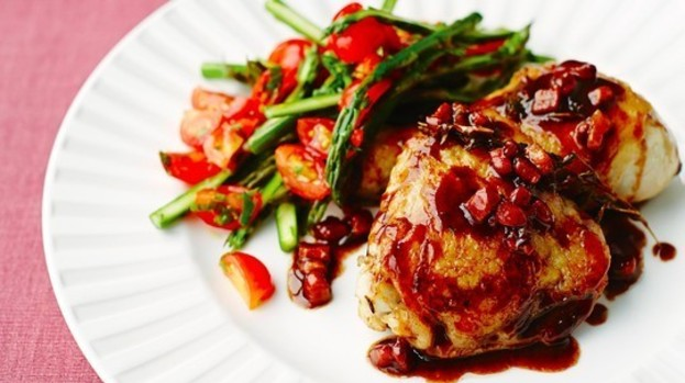 Gino's Italian Escape: Chicken with pancetta and balsamic ...