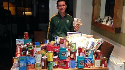 Student asks for food bank donations instead of gifts for 21st birthday