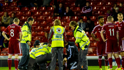 Aberdeen manager left sweating over knee injury to Ryan Jack