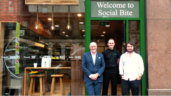 Second Social Bite store opens in Glasgow to help homeless