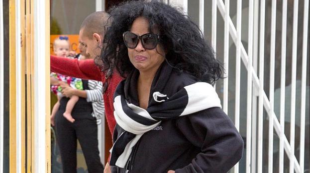 Diana Ross 39 Choked Up 39 At Son 39 S Wedding Showbiz