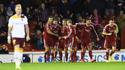 Aberdeen 1-0 Motherwell: Hayes' winner means more misery for 'Well