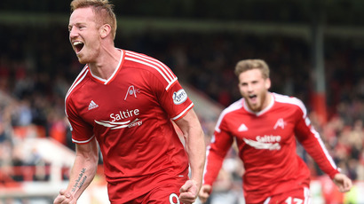 Docherty: Adam Rooney is first pick for Aberdeen in cup competition
