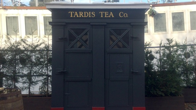 Transport yourself to the Tardis Tea Company on the Shore
