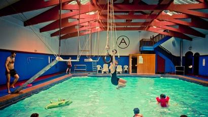 Arlington baths swimming club launches fundraising photo essay book stv glasgow glasgow for Swimming pool west end glasgow