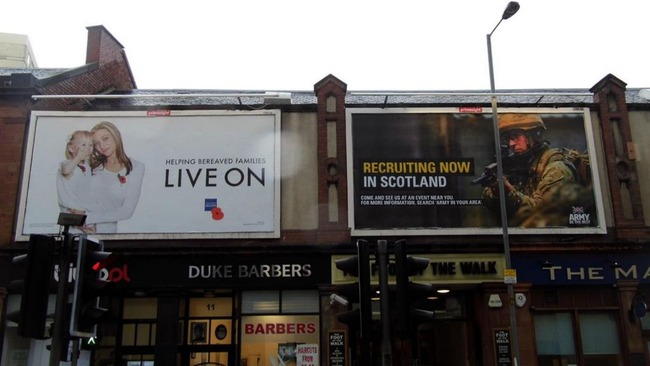 Leith billboards taken down following outrage