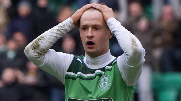 Hibernian forward Leigh Griffiths.
