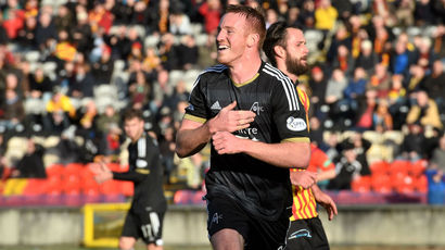 Partick Thistle 0-1 Aberdeen: Adam Rooney penalty enough for Dons