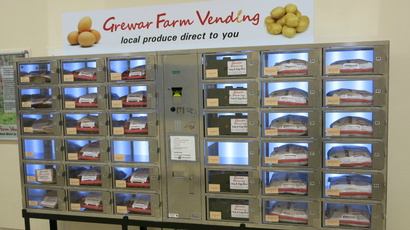 'Incredible success' of Dundee's vege-vending machine leads to extensi