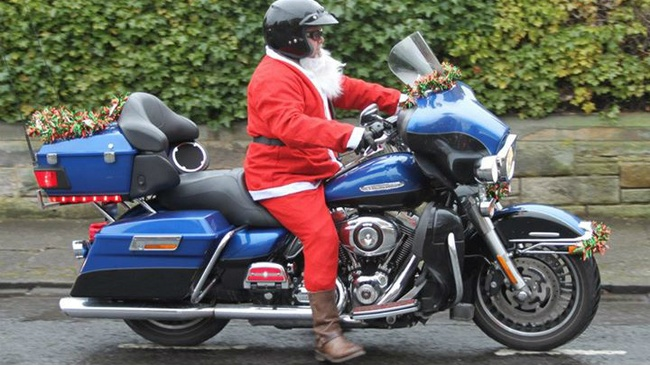 Dundee Santa bikers launch Christmas toy run appeal