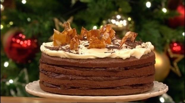 Gino S Christmas Tiramisu Cake