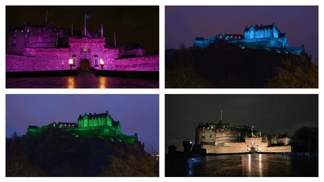 Edinburgh Castle Asks Twitter For Votes On What Colour To Light Castle STV